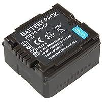 Troy - Batterie Li-Ion pour Panasonic VW-VBG130E, VBG130, pour SDR-H20, SDR-H40, SDR-H50, SDR-H60, SDR-H80, SDR-H90, SDR-H250, SDR-H280