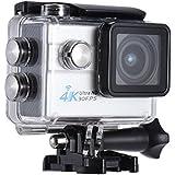 """Andoer 2.0 """"LCD Wifi Action Sports Caméra Ultra HD 16MP 4K 30fps 1080P 60FPS 4X Zoom 170 degrés Grand-Lens étanche 30M voiture DVR DV Cam Plongée vélos activité de plein air"""