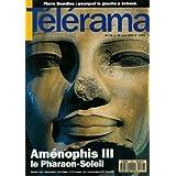 Télérama - n°2256 - 07/04/1993 - Aménophis III, le Pharaon-Soleil