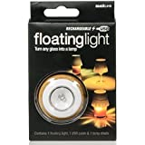 Suck UK SK LIGHTGLASS1 - Luz LED, flotante, recargable, color blanco