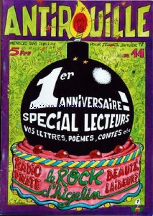ANTIROUILLE [No 11] du 01/01/1977 - ANNI...