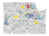 Personnalisez votre plan de Paris ! Ce carnet de voyage permet de noter souvenirs, bonnes adresses, ...   Omy Design & Play, imagine et conçoit des produits joyeux, graphiques et intelligents pour la maison, destinée à tous.       Contient 1 ...