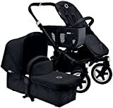 Bugaboo Donkey Tailored Fabric Set, Black by Bugaboo