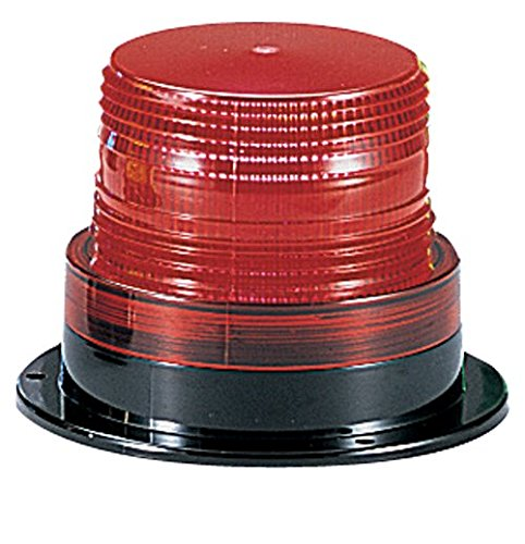 Federal Signal LP6-012-048R Streamline Low Profile Mini Strobe Light, Surface Mount, 12-48 VDC, Red by Federal Signal
