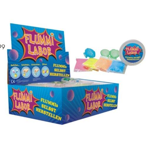 Flummilabor, Flummis selbst machen ergibt 4 Flummis!