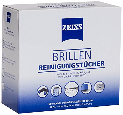 ZEISS Brillen-Reinigungstücher (50 Stück)