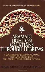 Title: Aramaic Light on Galatians through Hebrews