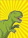 Posterlounge Acrylglasbild 60 x 80 cm: T-Rex von Kidz Collection/Editors Choice - Wandbild, Acryl Glasbild, Druck auf Acryl Glas Bild