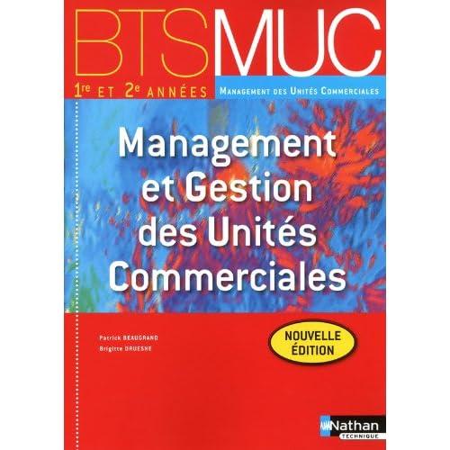 MANAGEMENT GEST UNIT COM BTS