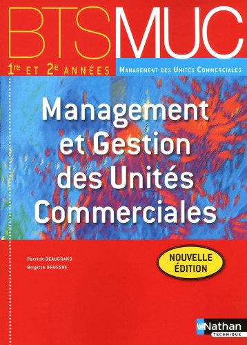 MANAGEMENT GEST UNIT COM BTS par PATRICK BEAUGRAND