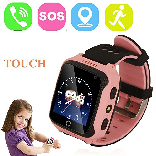 1.44 Pulgadas Touch Kids GPS Tracker Smart Watch SOS Reloj Pulsera para...