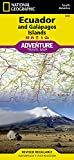 Ecuador und Galapagos: NATIONAL GEOGRAPHIC Adventure Maps