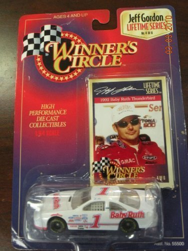 1992-jeff-gordon-1-baby-ruth-ford-thunderbird-busch-series-car-1-64-scale-winners-circle-lifetime-se