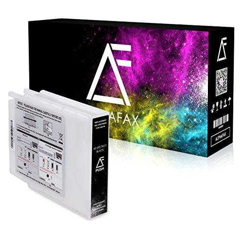 Preisvergleich Produktbild Alphafax Tintenpatrone für Epson WorkForce WF-6590 WF-6090 C13T907140 Schwarz 202ml