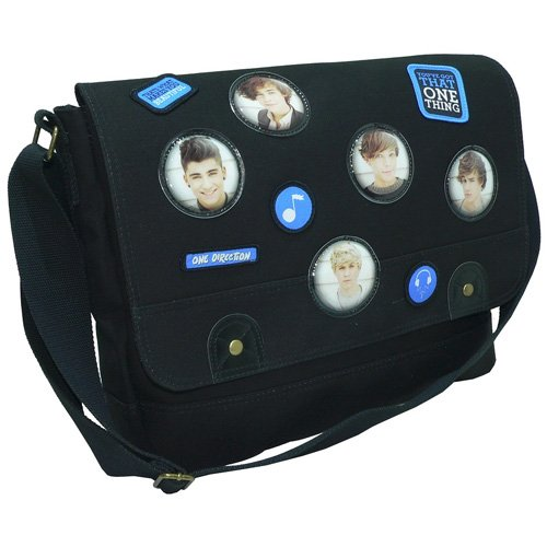 ONE DIRECTION 2 1D CANVAS MESSENGER SCHOOL COURIER COLLEGE DESPATCH BAG NEW GIFT