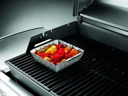 51k5AXp%2BYDL - Weber Grill Style Gemüsekorb Edelstahl klein 6481