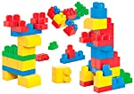 Play and store with the first builders lots of bloks by Mega bloks. The lots of bloks box includes a value packed 40 first builders building blocks that are perfect for your little building fan who is just learning how to create with his own two hand...