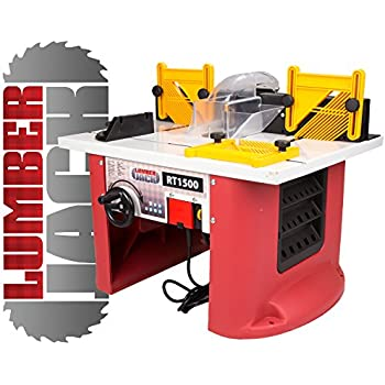 Dewalt de6900 router table for dw613620621 router old version lumberjack rt1500 1500w bench top router table with intergrated router greentooth Image collections