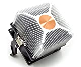 Y&W Contrôle De Température Intelligent, CPU Ventilateurs De Refroidissement De Radiateur, 4 Broches 12V DC 2-3W AMD, Puce D'ordinateur De Bureau,Copper,4500RPM