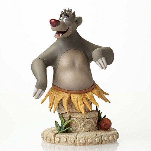 ENESCO Disney Grand Jester The Jungle Book Baloo, Büste, Keramik, Mehrfarbig, 12 x 19 x 21,5 cm