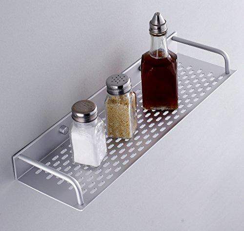 Bad Regale,Badezimmer Regal Korb,Wandmontage mit Handtuchhalter (Edelstahl-spüle Freistehende)