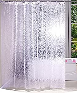 Kuber Industries PVC 20 MM Shower Curtain
