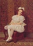 PORTRAIT OF MISS GIBSON BILDER BILD OLGEMALDE MALEREI KUNST 90x60cm HOCHWERTIGER