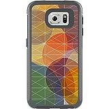 OtterBox My Symmetry Schutzhülle inkl. austauschbarem Inlay für Samsung Galaxy S6 grau