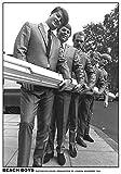 BEACH BOYS POSTER OUTSIDE EMI STUDIOS 1964
