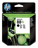HP 88X L–Tintenpatrone–1x Schwarz–2580Seiten–Blister
