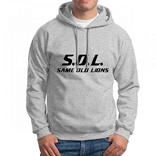 S.O.L Long Sleeve for Men Custom Hoodie Sweatshirt