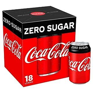 Coca-Cola Zero Sugar, 18 x 330 ml