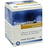 TAUWETTER SALBE Neu 20 g Salbe
