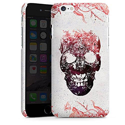 Apple iPhone X Silikon Hülle Case Schutzhülle Totenkopf Skull Schädel Premium Case matt