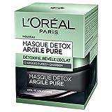 L'Oréal Paris - Masque Détoxifiant Pour Le Visage - Argile Pure - 50 ml