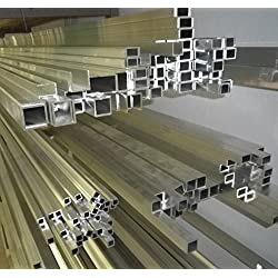 Perfil de aluminio u 40x 20x 40x 2mm (10cm de 260cm)