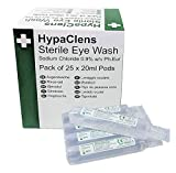 Hypaclens Emergency Sterile Eyewash Pods - 20ml (Pack of 25)