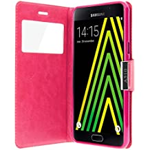 Avizar-Custodia portafoglio con finestra per Samsung Galaxy A5, 2016