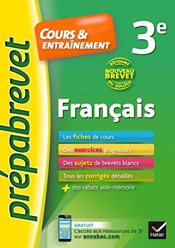 Franais 3e Nouveau brevet