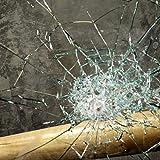 TipTopCarbon Fenster Splitterschutz Folie 100 x 152cmSicherheitsfolie Splitterschutzfolie Einbruchschutzfolie Fensterfolie Folie