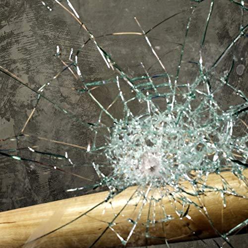 TipTopCarbon Fenster Splitterschutz Folie 200 x 152cm Sicherheitsfolie Splitterschutzfolie Einbruchschutzfolie Fensterfolie Folie