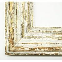 Cornice Brittany crema bianco 6,5 - vuoto telaio senza vetro 80 x 90 cm - molte misure - altre varianti con luce normale vetro, Museo vetro, Plexiglas disponibili in negozio - Modern, Vintage, Shabby