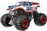 Hot Wheels Monster Jam 1:24 Die-Cast Captain America Vehicle by Hot Wheels