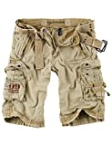 Surplus Royal Herren Cargo Shorts, royalsahara, Größe 4XL