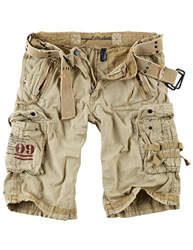 Surplus Royal Herren Cargo Shorts, royalsahara, Größe XL (Fashion Herren Shorts Cargo)