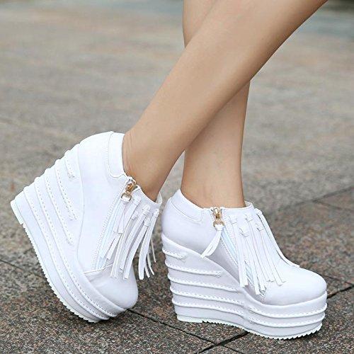 LvYuan Stivaletti / Pattini / Ufficio e carriera brevi / Heel alto / Comfort / Outdoor Scarpe casual flatform White