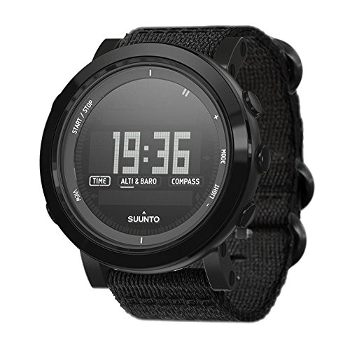 Watch Suunto Essential Ceramic ALL BLACK TX - Textile Strap
