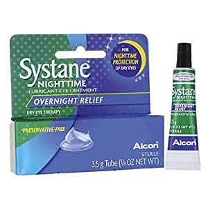 Systane - Nighttime Lubrifiant Onguent Pour Les Yeux, 3,5 Gm