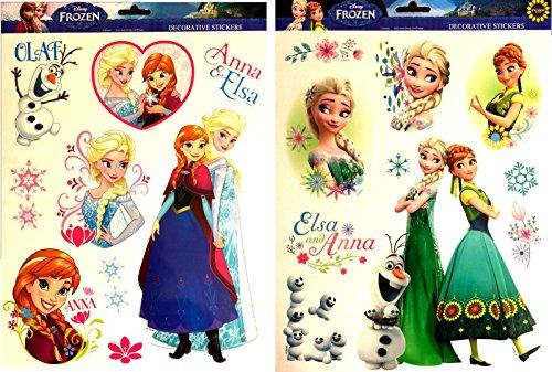 ILM DIE EISKÖNIGIN 1 BRETT MAXI-STICKER/AUFKLEBER, GROSS, GESCHENKIDEE, MODELL NACH LAGER (Disney Frozen Platten)