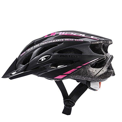 meteor Fahrradhelm MV29 DRIZZLE: Erwachsene Unisex & Jugendhelme Rad helm für Radfahrer Radsport; für Hoverboard, Inline-Skate, BMX Fahrrad, Scooter. Entwickelt für...